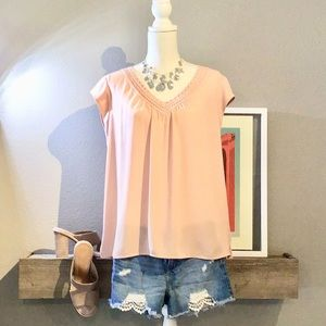 Pink Flow Blouse